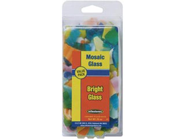 Mosaic Glass 20oz Value Pack-Bright Colors