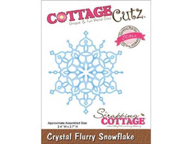 CottageCutz Elites Die-Crystal Flurry Snowflake