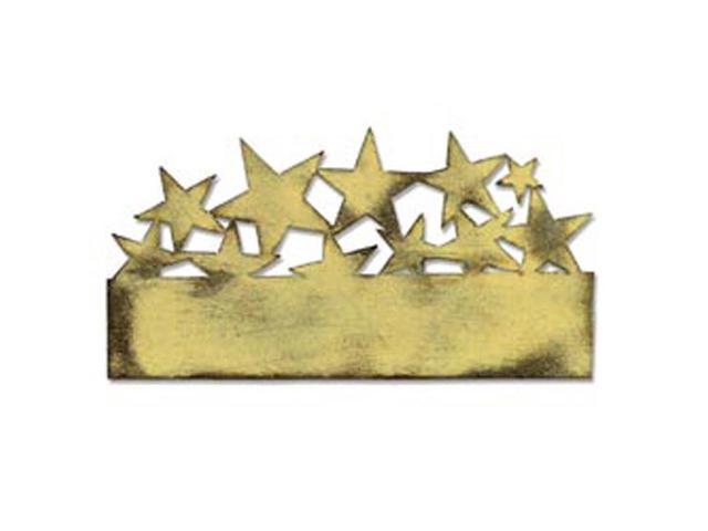 Sizzix On The Edge Die By Tim Holtz-Star Cluster