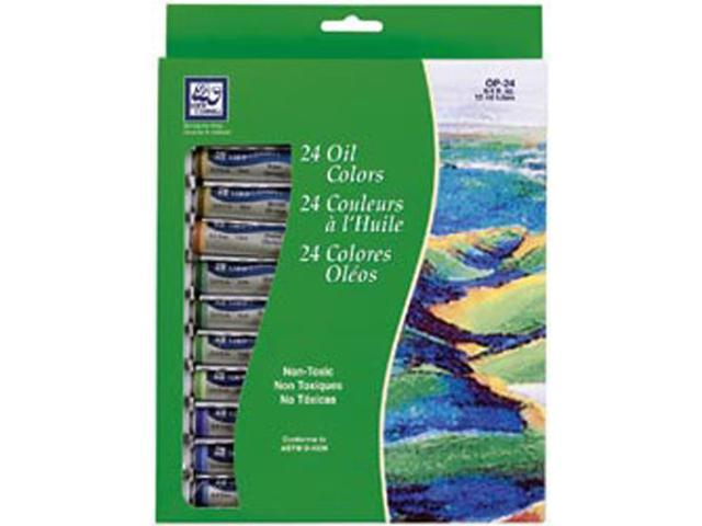Oil Paint 12ml 24/Pkg-Assorted Colors