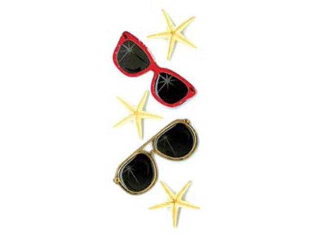 Jolee's By You Dimensional Stickers Slim-Sunglasses