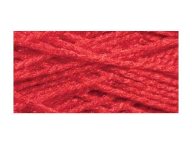 Needloft Craft Yarn 20 Yard Card-Christmas Red