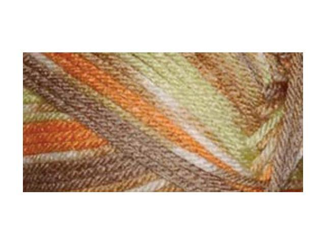 Everyday Anti-Pilling Soft Worsted Prints Yarn-Harvest Melon