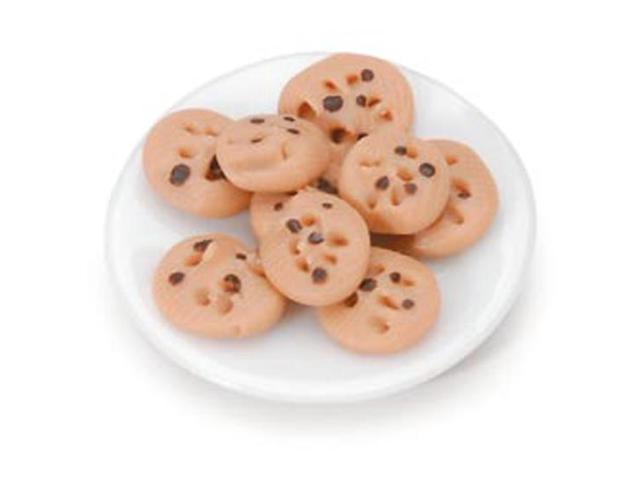 Timeless Miniatures-Chocolate Chip Cookie Plate