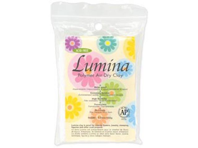 Lumina Polymer Air Dry Clay 5.29 Ounces-Translucent