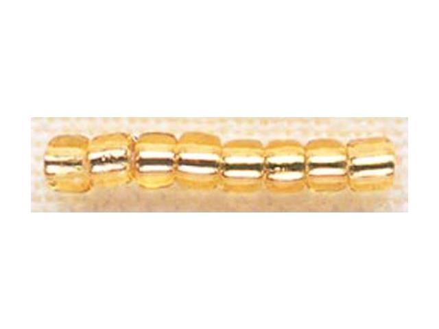 Mill Hill Glass Beads Size 6/0 4mm 5.2 Grams/Pkg-Victorian Gold