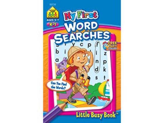 My First Little Busy Book-Word Search