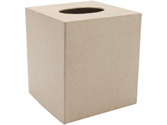 Paper Mache Tissue Box 5