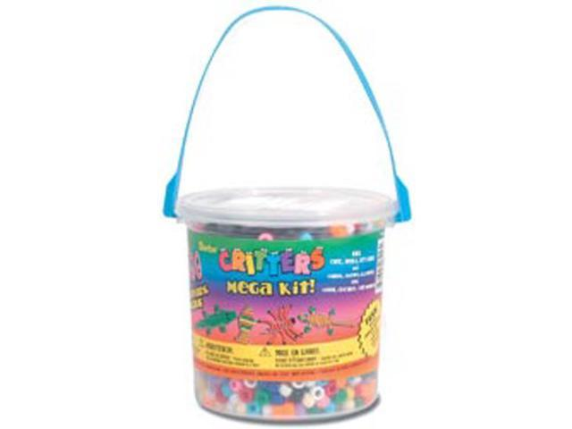 Critters Mega Bead Bucket Kit-Opaque