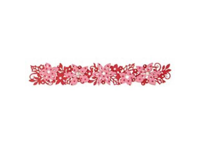 Sizzix Sizzlits Decorative Strip Die-Winter Florals