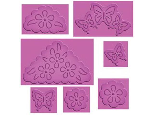 Spellbinders Enhanceabilities Pop-Up Dies-Butterflies And Flowers