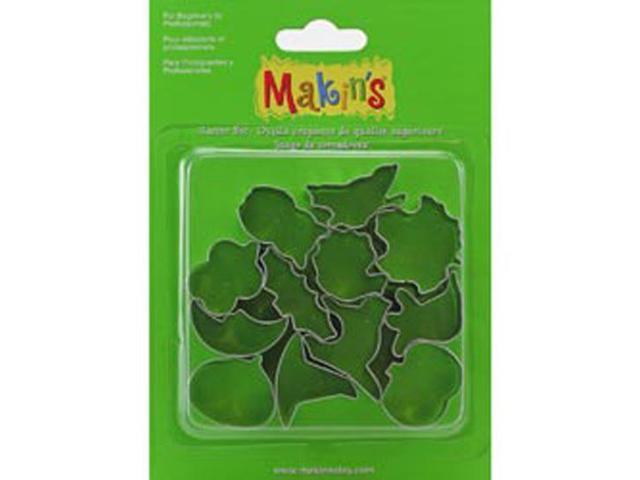 Makin's Clay Cutters 12/Pkg-Halloween