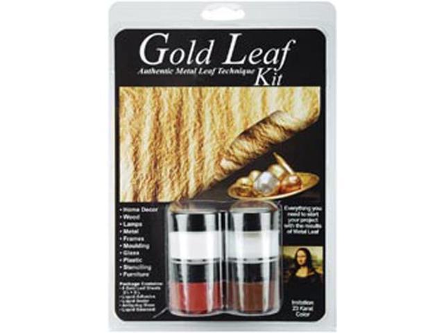 Metal Leaf Technique Kit-Gold