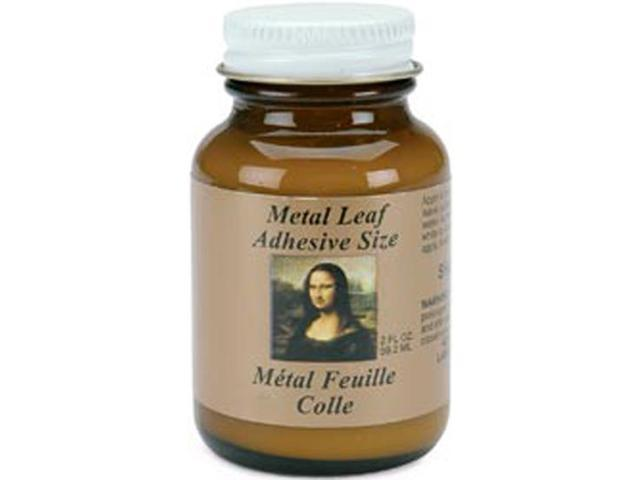 Metal Leaf Adhesive-2 Ounces