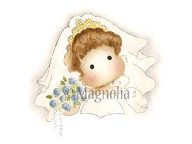 Special Moments Cling Stamp-Doo Bee Pops Bride Tilda