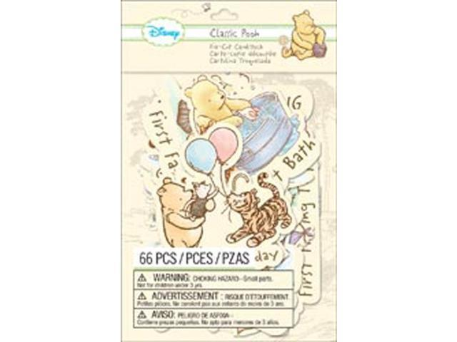 Disney Cardstock Die-Cuts-Classic Pooh - Firsts