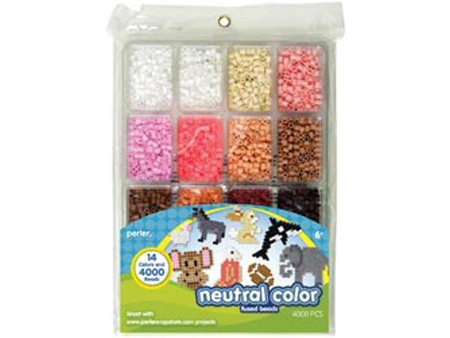 Perler Fun Fusion Beads 4000/Pkg-Neutral Color