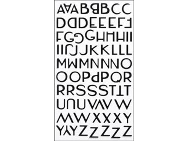 Sticko Alphabet Stickers Small-Aristocrat