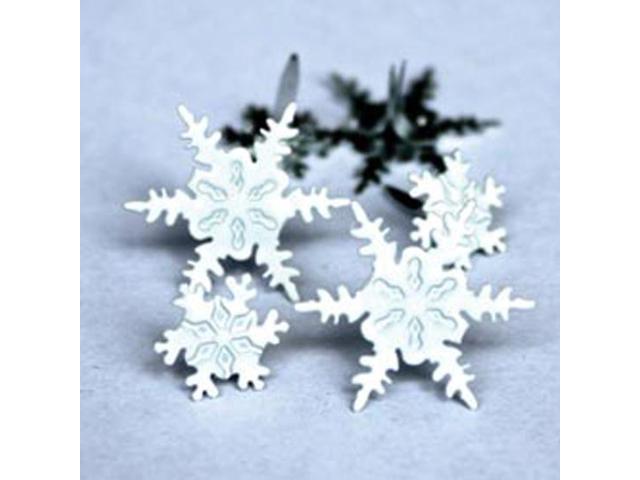 Eyelet Outlet Shape Brads-Snowflake