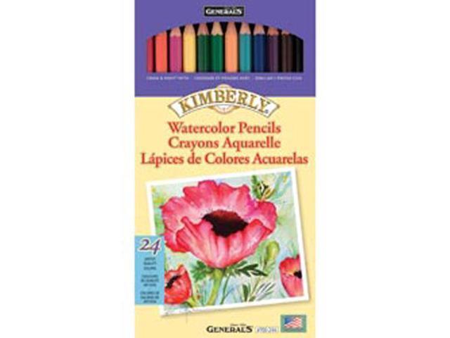 Kimberly Watercolor Pencils 24/Pkg-