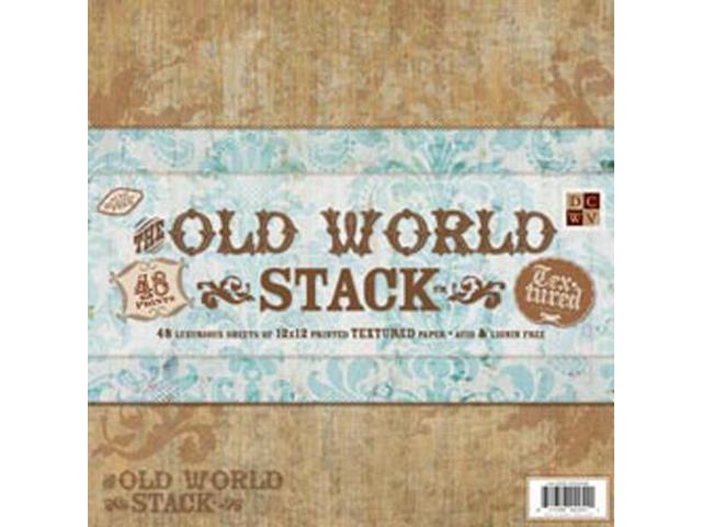 Old World Paper Stack 12