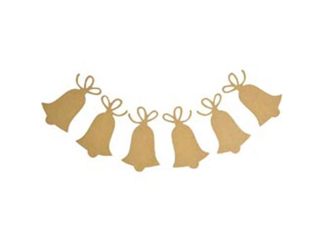 Beyond The Page MDF Bells Pennant-3.5