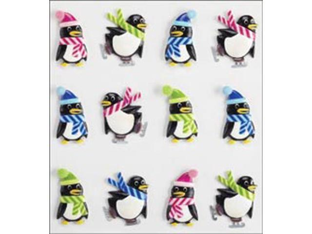 Jolee's Cabochons-Holiday Penguins