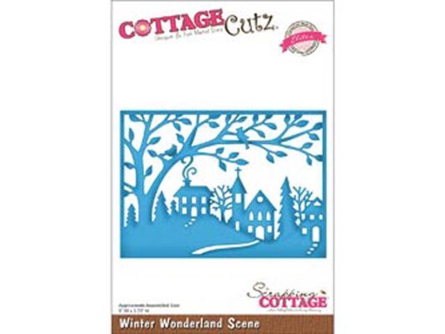 CottageCutz Elites Die-Winter Wonderland Scene