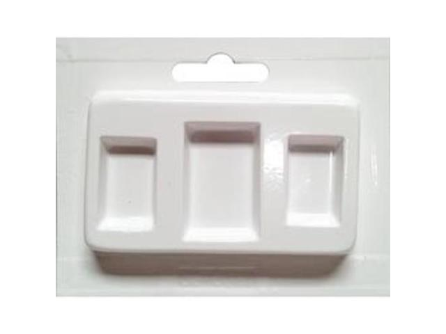 Jewelry Casting Mold-Rectangles Assorted Sizes 3 Cavity