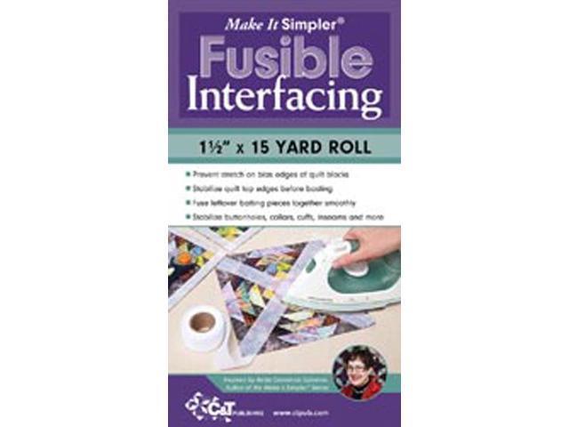 Make It Simpler Fusible Interfacing-1-1/2