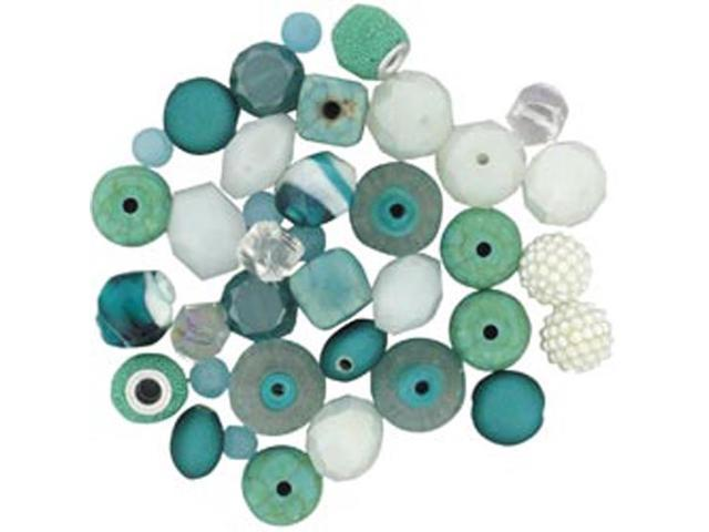 Design Elements Beads 28 Grams-Coastal