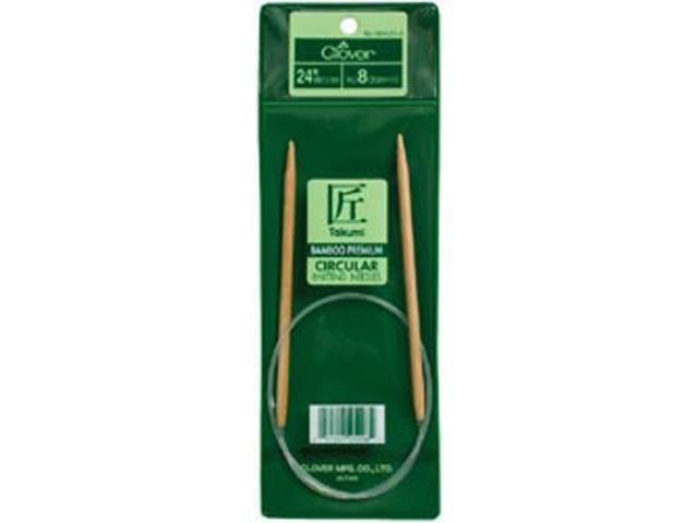 "Bamboo Circular Knitting Needles 24""-Size 9"