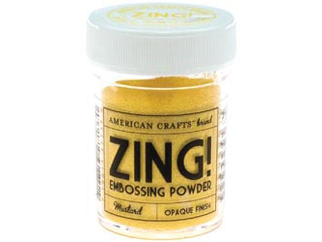 Zing! Opaque Embossing Powder 1 Ounce-Mustard