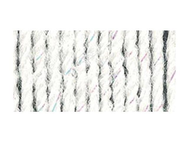 Wool-Ease Yarn -White Glitter