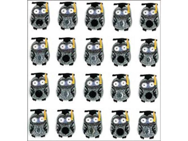 Jolee's Mini Repeats Stickers-Graduation Owl