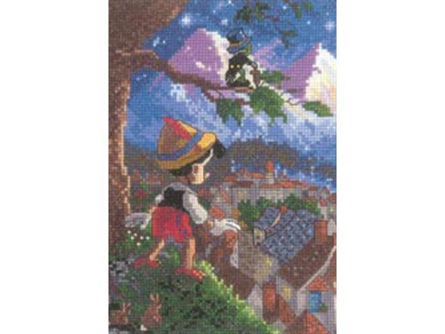 Disney Dreams Collection By Thomas Kinkade Pinocchio Vignett-5
