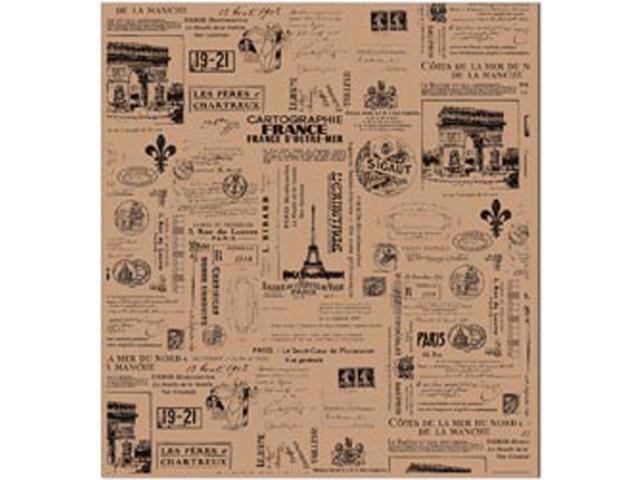 Tissue Paper 4/Pkg-Paris