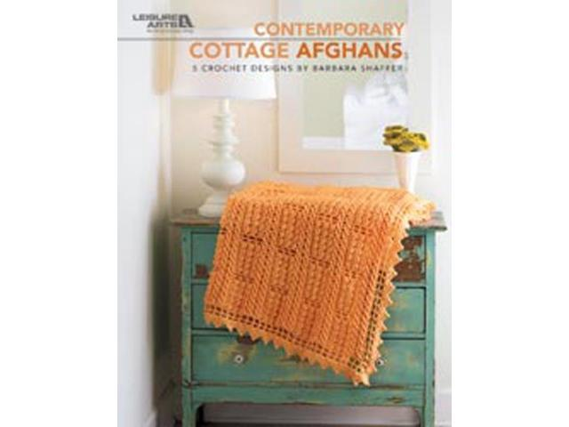 Leisure Arts-Contemporary Cottage Afghans