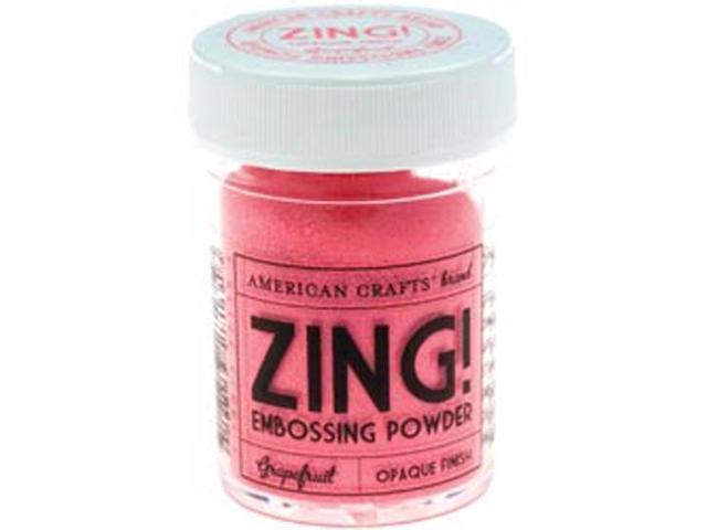 Zing! Opaque Embossing Powder 1 Ounce-Grapefruit