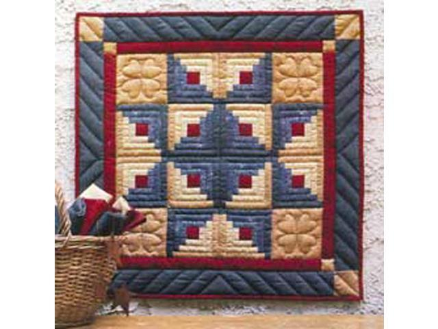 Log Cabin Star Wall Hanging Quilt Kit-22