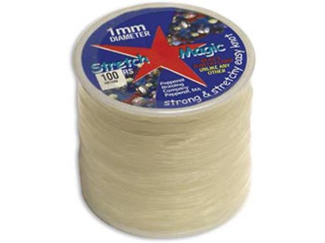 Stretch Magic Bead & Jewelry Cord 1mmX100m-Clear