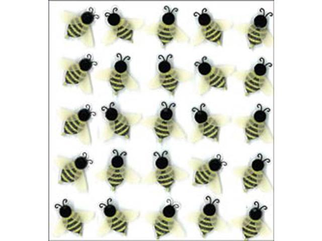 Jolee's Mini Repeats Stickers-Bees