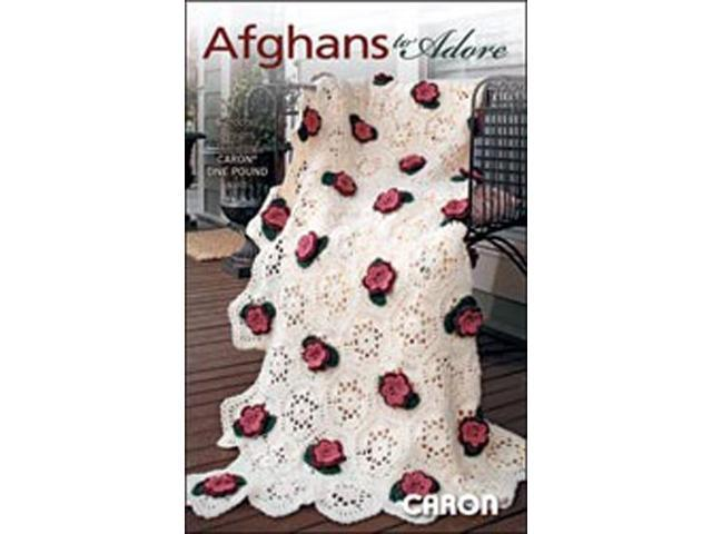 Leisure Arts-Afghans To Adore -One Pound