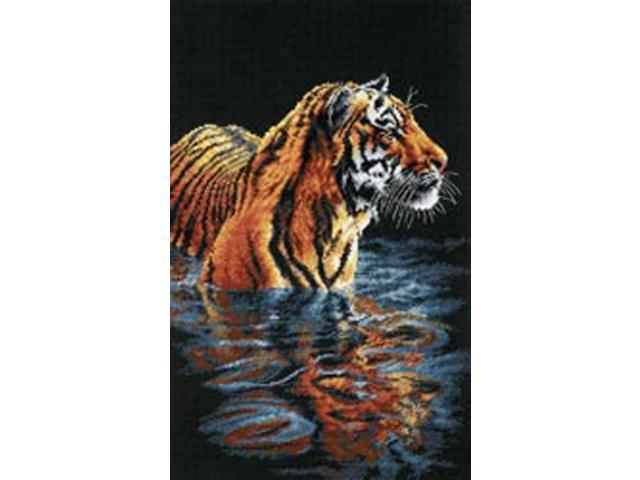 Tiger Chilling Out Counted Cross Stitch Kit-9