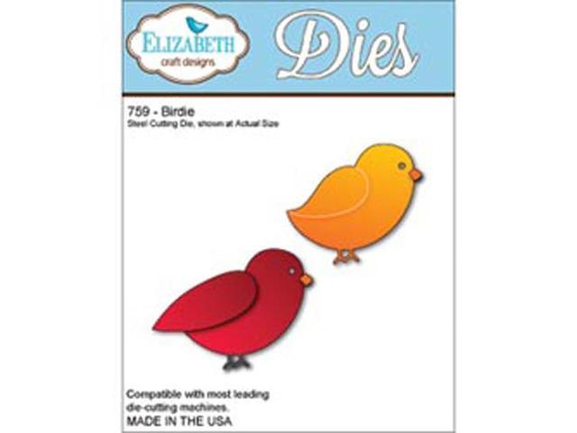 Elizabeth Craft Metal Die-Birdie