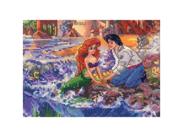 Disney Dreams Collection By Thomas Kinkade Little Mermaid   -7