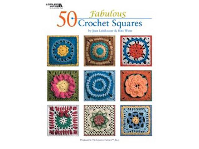 Leisure Arts-50 Fabulous Crochet Squares