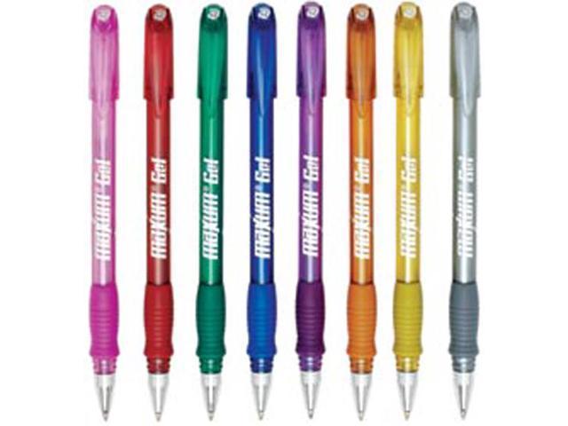 Maxum Gel Metallic Ink Pens Medium Point 8/Pkg-Intense Colors