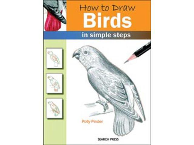 Search Press Books-How To Draw Birds