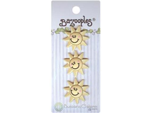 BaZooples Buttons-Sun